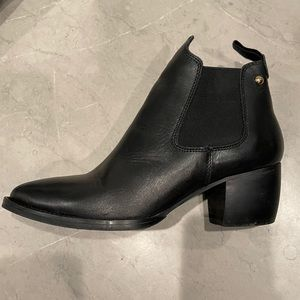 Topshop Leather Ankle Boot